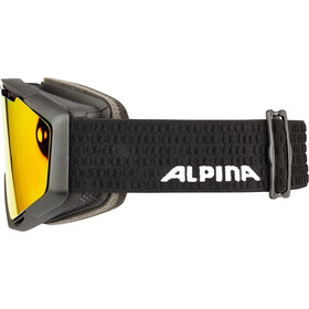 Alpina Panoma Magnetic Q+SM S1+S3 Lunettes de protection, red/black matt